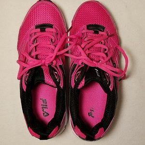 Fila Women's Running Shoes Hot Pink Size 7.5
